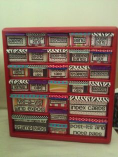 teacher toolbox - now, if only I would actually make this!