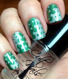 Love this take on polka dots!