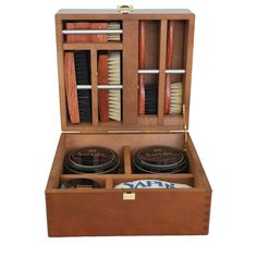 Saphir Medaille D'Or Petite Modele Wooden Valet Box