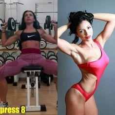 Follow me on my #youtubechannel Francesca Raffini Italian FitnessModel #fitness #bikini #muscle #gym #strong #sexy