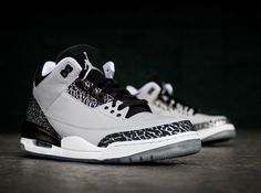 bdf614ffa0e3 wolf grey jordan iii retro 02 Sneakers Releasing This Weekend July 19th