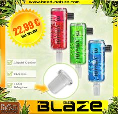 """No matter if you have a 14,5 or a 18,8 bong! The """" Blaze Liquid cooler"""" can handle both... thanks to the brilliant adapter!  Just put it in the fridge, wait for a couple of minutes and the refreshment will be with you!  #weed #cannabis #cannabiscommunity #marijuana #stoner #ganja #high #highsociety #dabs #thc #highlife #hightimes #maryjane #kush #weshouldsmoke #smokeweedeveryday #life #headshop #cbd #stonernation #dab #smokeshop #weedhumor #bong #fourtwenty #bongsport"""
