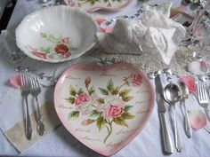 Shabby Chic ● vintage dishes