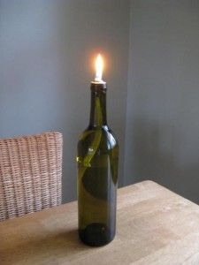 I'm going to do this with citronella oil, in The Kraken bottle for my husband's birthday.  Paired with a new bottle of The Kraken rum, it will be the perfect gift for him.