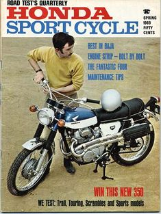 1969 Honda Sport Cycle cover