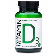 PurePharma Vitamin D3 - 120 capsules