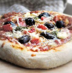 Greek Pizza. Photo by Andi of Longmeadow Farm