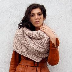 risamade crocheted scarves