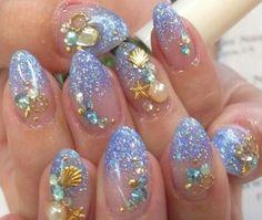Beach nailli by AcademieDiva from Nail Art Gallery