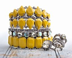 Lemon Zest Collection by Sorrelli Jewelry.
