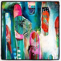 little crops from my latest painting~ Tracy Verdugo http://artoftracyverdugo.blogspot.com