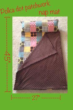 CUSTOM Child / Toddler Nap Mat FLEECE by KJBabyDesigns on Etsy, $37.50