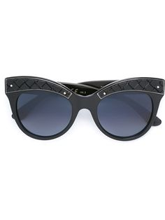 4e7860659335 Bottega Veneta Eyewear oversized round frame sunglasses (FYI - this is an  affiliate link)