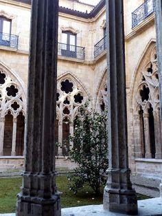 Claustro, Catedral de San Salvador, Oviedo, Asturias, España