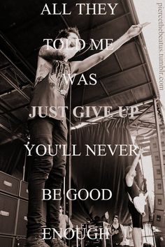 the depths. of mice & men. ♥  My fave OM song from The Flood