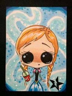 Sugar Fueled Art-Princess Anna
