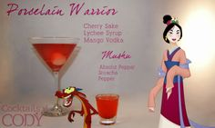 OMFG, Disney Cocktails! Mulan!