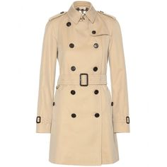 Burberry London - The Westminster trench coat - The archetypal Burberry trench coat is a fashion icon in itself. We love this classic beige style, finished with all of the signature buttoning and belting. It'll save you on rainy days and always look chic. seen @ www.mytheresa.com
