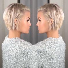 @krissafowles short blonde hair