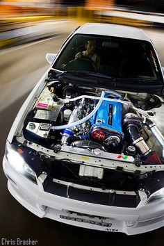 Nissan Skyline GTR R34. RB26DETT one of the best engines in this world. I just love it
