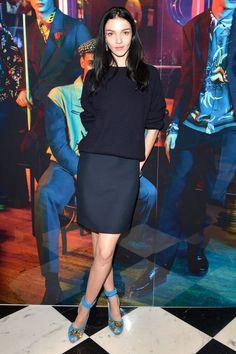 073ec0b8db7 Mariacarla Boscono in Prada Fashion Stylist