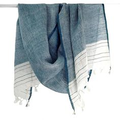 100/% Cotton Natural Dyes Fair Trade Himalayan Weavers Violet Scarf