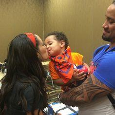 From Josh Fatu IG page. His son and Bri Bella cute