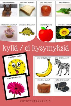 Kenen koti tämä on? Joko, Early Childhood Education, Pre School, Fruit, Children, Peda, Early Education, Young Children, Boys