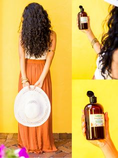 """I've been in the beauty field for 4 years so have been around the """"best"""" products. After getting the hair extensions out & seeing my hair was much thinner due to the loss caused by the extensions I searched for a product that was all natural and would help bring my hair back. I used this for a few months & saw results immediately. My hair feels fuller, I'm using a product with all amazing, natural ingredients and my hair started growing."""