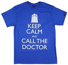 Doctor Who Keep Calm and Call the Doctor Shirt
