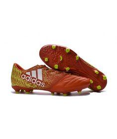 low priced bfe73 a6025 Adidas X 16.3 FG PEVNÝ POVRCH kopačky červená žlutý