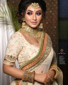 Bengali Bridal Makeup, Bollywood Pictures, Bridal Portraits, Sari, Jewellery, Artist, Dress, Instagram, Fashion