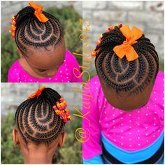 Little Girl Braid Styles, Kid Braid Styles, Little Girl Braids, Braids For Kids, Girls Braids, Kid Braids, Toddler Braided Hairstyles, Lil Girl Hairstyles, Natural Hairstyles For Kids
