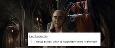 THRANDUIL!!!!!! This one is hilarious...|Hobbit and Tumblr text posts
