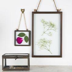 www.yourbox-shop.com marco metálico de cristal doble. photo frame. deco. decor. home. flowers. photos . boho. bohemian.