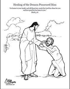 Mathew 8:28-34; Mark 5:1-20; Luke 8:26-39; Jesus Has Power