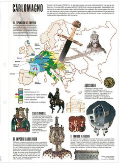 el imperio de Carlomagno