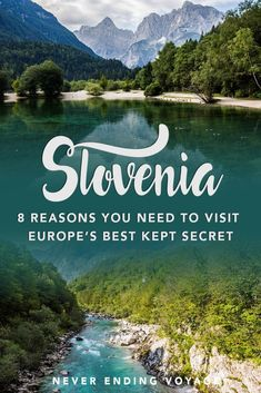 From the charming Ljubljana to the stunning Lake Bled, here's why Slovenia is Europe's best kept secret! #slovenia #europeantravels