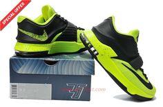 KDVII-055 Nike KD 7(VII) Volt Mystic Green WMNS Mens