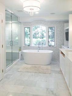 Our exact master bath layout - Farm House Decor Luxury Master Bathrooms, Master Bedroom Bathroom, Small Bathroom, Bathroom Bidet, Bathroom Showers, Modern Bathroom Design, Bathroom Interior Design, Bathroom Designs, Master Bath Layout