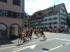 Königsettappe der Tour de Suisse führte durch Zug by mprofi-ag, via Flickr Street View, Tours, Explore, Digital, Lucerne, Switzerland, Photo Illustration, Exploring