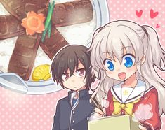 ♡ On Pinterest @ kitkatlovekesha ♡ ♡ Pin: Anime ~ Charlotte ~ Nao & Yuu ♡