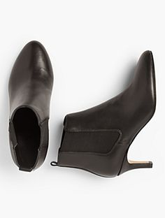 Talbots: Isabel Pull On Ankle Booties Ankle Booties, Bootie Boots, Fall Shoes, Talbots, Chelsea Boots, Pairs, Booty, Clothes For Women, My Style