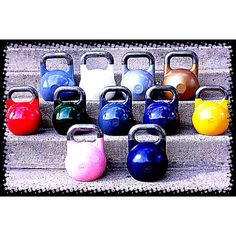 """This is a Kebble. A group of Kettlebells. Start """"raising"""" your own today."""