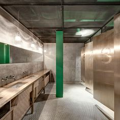 "bathroom at restaurant | ""new heights""  