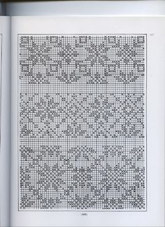 Traditional Fair Isle Knitting by Sheila McGregor - Beata J - Picasa Web Album Fair Isle Knitting Patterns, Knitting Charts, Knitting Stitches, Cross Stitch Sampler Patterns, Cross Stitch Borders, Stitch Patterns, Crochet Motifs, Filet Crochet, Fair Isle Chart