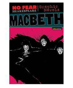 No Fear Shakespeare Graphic Novels Macbeth Book