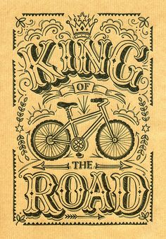 King of the Road Cycling Print | Flickr - Photo Sharing!