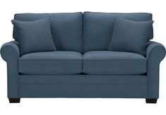 Cindy Crawford Home Bellingham Peat Sleeper Loveseat x x . Find affordable iSOFA Hidden for your home that will complement the rest of your furniture. Blue Loveseat, Small Sleeper Sofa, Mattress Couch, Sectional Sofa With Recliner, Leather Sectional Sofas, Small Sofa, Sleeper Loveseat, Sofa Beds, Contemporary Sofa