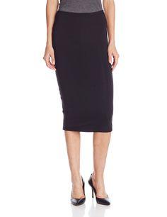 Michael Stars Women's Esa Convertible Pencil Skirt, Black, X-Small